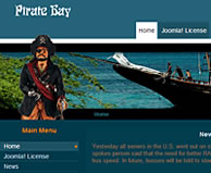 Pirate Bay - Joomla 1.5